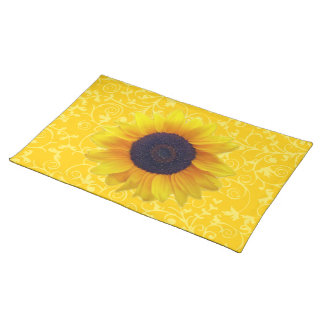 Sunflower Cloth Placemat