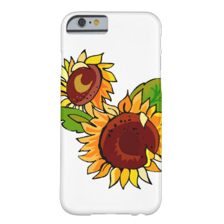 Sunflower Cluster Barely There iPhone 6 Case