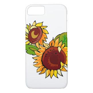 Sunflower Cluster iPhone 7 Case