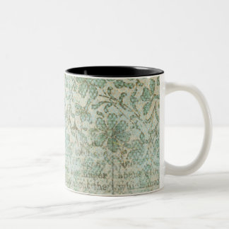Sunflower Collage Two-Tone Coffee Mug