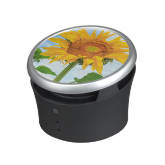 Sunflower, community garden, Moses Lake, WA, USA Bluetooth Speaker