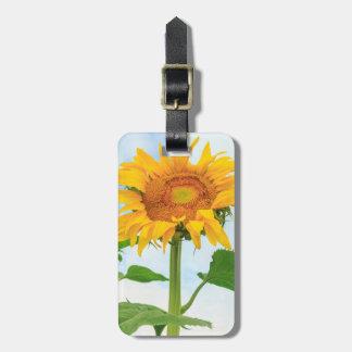 Sunflower, community garden, Moses Lake, WA, USA Luggage Tag