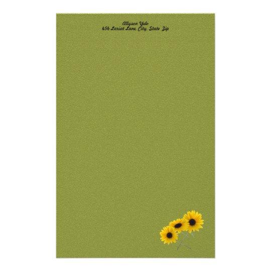 Sunflower Corner Stationery