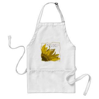 Sunflower Corner Wedding Apron Standard Apron