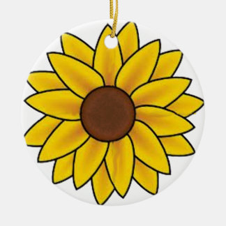 Sunflower Country Ornament