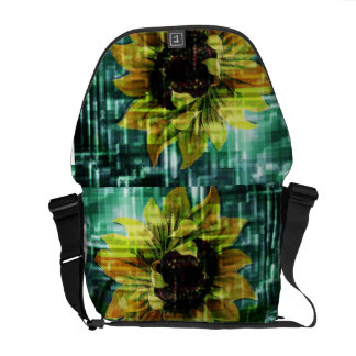 Sunflower Courier Bag
