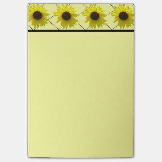 Sunflower Crisscross Post-it® Notes