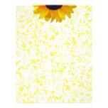 Sunflower Custom Letterhead