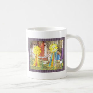 SUNFLOWER decorations at Surajkund Festival India Coffee Mug