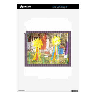 SUNFLOWER decorations at Surajkund Festival India iPad 2 Decal