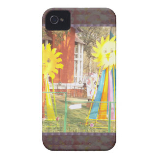 SUNFLOWER decorations at Surajkund Festival India iPhone 4 Case