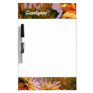 Sunflower Delight 18 Dry Erase Board