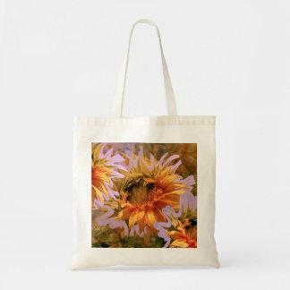 Sunflower Delight 18 Tote Bag