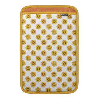 Sunflower Design. Artistic Flowers Pattern Sleeves For MacBook Air
