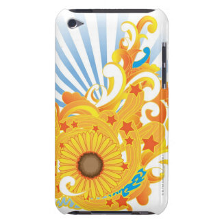 Sunflower Design Barely There iPod Case