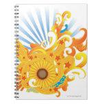 Sunflower Design Notebooks
