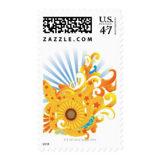 Sunflower Design Postage
