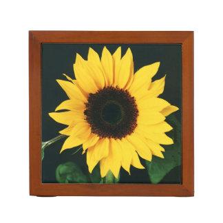 Sunflower desk organizer