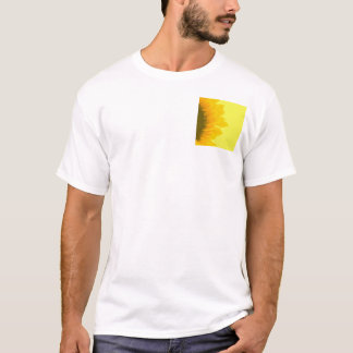 Sunflower Dewdrops in Yellow T-Shirt