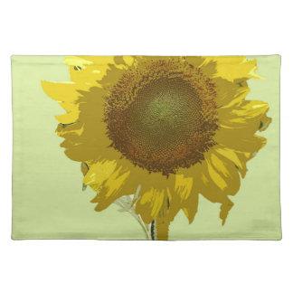 Sunflower Digital Design Cloth Placemat