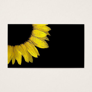 SUNFLOWER DIY Template Business Card