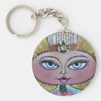Sunflower Doll Keychain