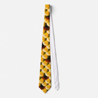 Sunflower Dragon Scales Tie