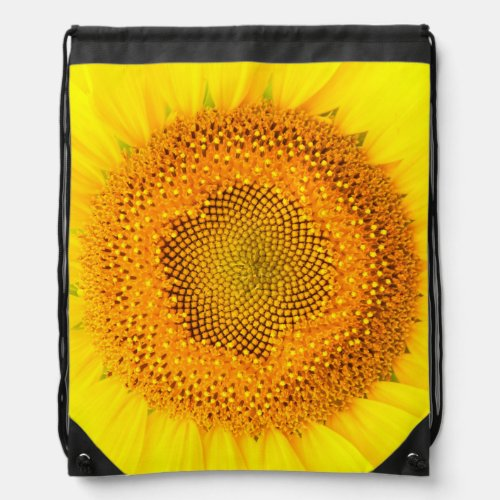 Sunflower Drawstring Backpack