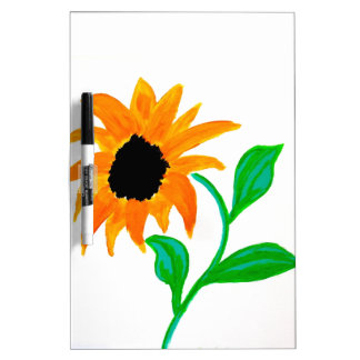 sunflower dry erase board