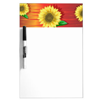 Sunflower Dry Erase Whiteboards