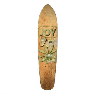 Sunflower & Eiffel Tower, Joy Skateboard Deck