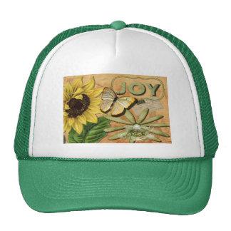 Sunflower & Eiffel Tower Trucker Hat