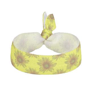 Sunflower Elastic Hair Tie