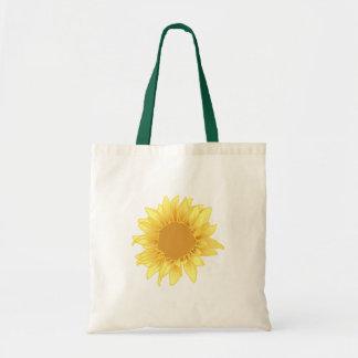 Sunflower Elegance Budget Tote Bag