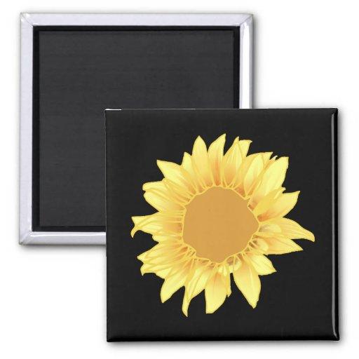 Sunflower Elegance Magnet