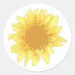 Sunflower Elegance Sticker