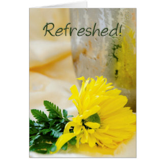 Sunflower Encouragement Card