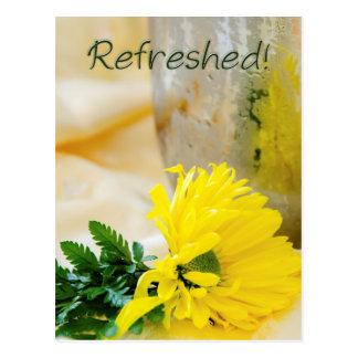 Sunflower Encouragement Postcard