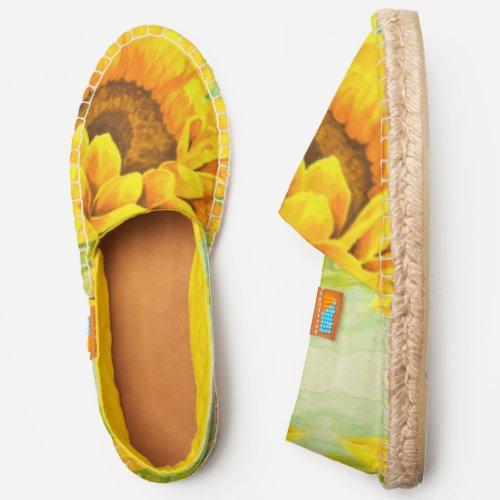 Sunflower Espadrilles