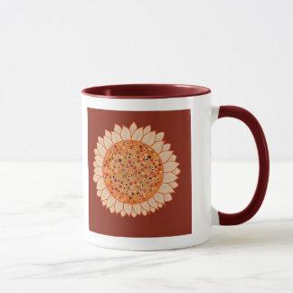 Sunflower Face Mug