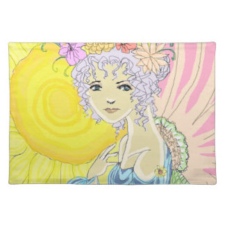 Sunflower Fairy Cloth Placemat