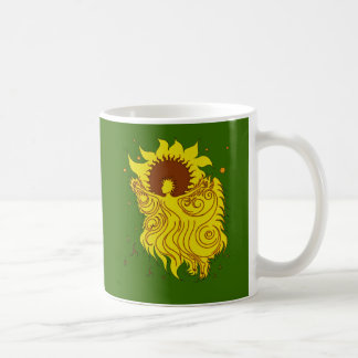 Sunflower Fairy Coffee Mug