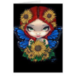 """Sunflower Fairy"" Greeting Card"