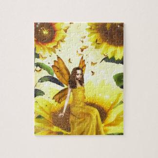 Sunflower Fairy Jigsaw Puzzle