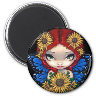 """""""Sunflower Fairy"""" Magnet"""