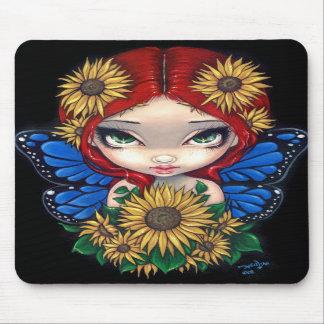 """""""Sunflower Fairy"""" Mousepad"""