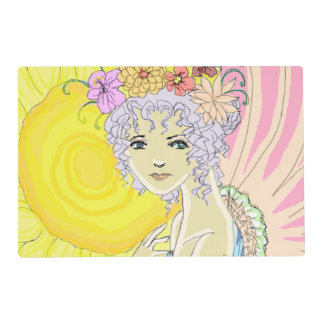 Sunflower Fairy Placemat