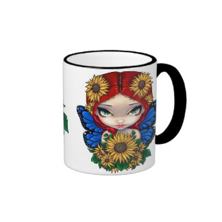 Sunflower Fairy with Sunflowers Mug