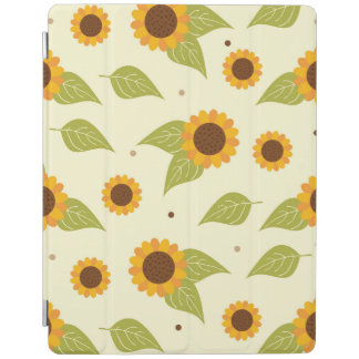 Sunflower Fall Autumn Pattern iPad Cover