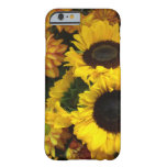 Sunflower Fall Flowers Barely There iPhone 6 Case